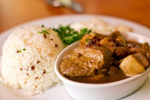 LA Rose Cafe - Pork Adobo
