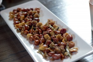 The Spice Table - Peanuts and Anchovies