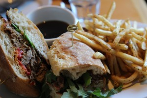 Kentro Greek Kitchen - Lamb Sandwich