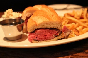 Side Door - Prime Rib Sandwich