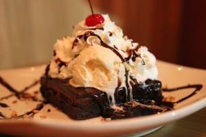 Islands Restaurant - Chocolate Lava Cake