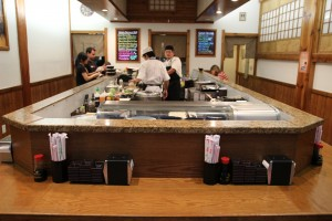 Sushi Stop - Inside