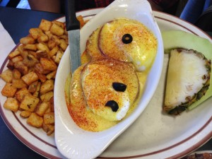The Egg and I - Eggs Benedict