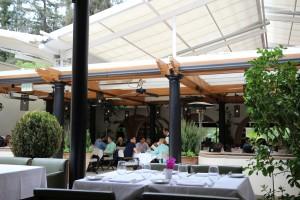 Wofgang Puck at Hotel Bel-Air - Inside