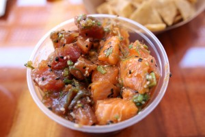 Bear Flag Fish Company - Tuna and Salmon Poke