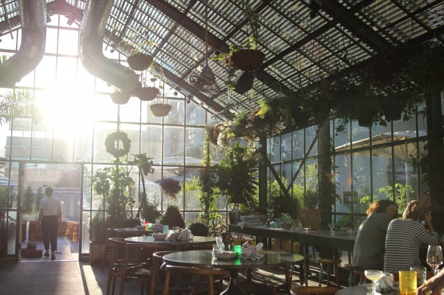 Commissary At The Line Hotel The Greenhouse Dinedelish