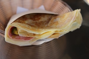 KCs Cafe - Ham and Cheese Crepe